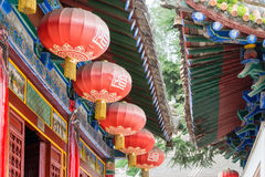 SHAANXI, CHINA - OCT 13 2014: Jintai Temple. a famous Temple in Royalty Free Stock Image