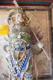 SHAANXI, CHINA - OCT 21 2014: Statue of Ma Dai at Wuzhangyuan Zh Stock Photos