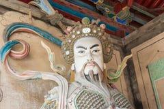 SHAANXI, CHINA - OCT 21 2014: Statue of Ma Dai at Wuzhangyuan Zh Royalty Free Stock Image