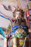 SHAANXI, CHINA - OCT 21 2014: Statue of Wang Ping at Wuzhangyuan Stock Photos