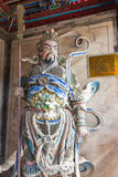 SHAANXI, CHINA - OCT 21 2014: Statue of Wei Yan at Wuzhangyuan Z Royalty Free Stock Images