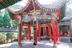 SHAANXI, CHINA - OCT 21 2014: Wuzhangyuan Zhuge Liang Temple. a Royalty Free Stock Photos