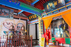 SHAANXI, CHINA - OCT 21 2014: Wuzhangyuan Zhuge Liang Temple. a Stock Photography