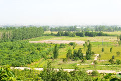 SHAANXI CHINY, Jun, - 05 2015: Miejsce Weiyang pałac w Chang' Zdjęcie Royalty Free
