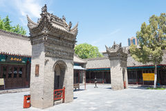 SHAANXI CHINY, Jun, - 05 2015: Wanshou Banxian pałac sławny h Obrazy Stock