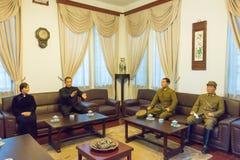 SHAANXI CHINY, Jun, - 03 2015: Zhang Xueliang siedziba (Zhangxuel Obraz Royalty Free