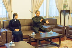 SHAANXI CHINY, Jun, - 03 2015: Zhang Xueliang siedziba (Zhangxuel Obrazy Stock
