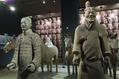 Shaanxi History Museum Stock Images