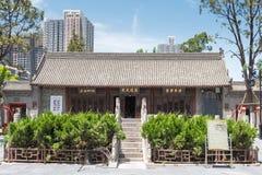 SHAANXI KINA - Juni 05 2015: Wanshou Banxian slott ett berömt H Royaltyfria Foton
