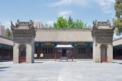 SHAANXI KINA - Juni 05 2015: Wanshou Banxian slott ett berömt H Fotografering för Bildbyråer