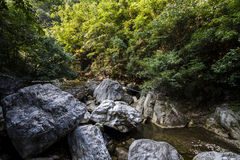 Shaanxi Qinling gold Gap scenery Royalty Free Stock Images