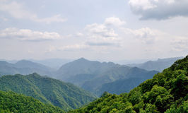 Shaanxi Qinling mountain Royalty Free Stock Photography