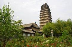 Shaanxi xi 'an small wild goose pagoda Royalty Free Stock Image