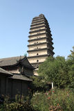 Shaanxi xi 'an small wild goose pagoda Royalty Free Stock Photo