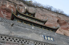 Shaanxi xianyang Bin County jinzhou.would Royalty Free Stock Image