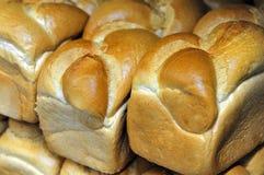 Shabbat Challah rolls. Shabbat bread rolls ,Challah, on display in a bakery shop Royalty Free Stock Photo