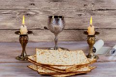Shabbat Shalom - Traditional Jewish Sabbath ritual. Shabbat Shalom - Traditional Jewish Sabbath matzah, and wine. ritual Royalty Free Stock Photos
