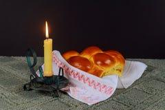 Shabbat Shalom - Traditional Jewish Sabbath ritual Stock Image