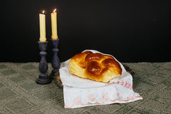 Shabbat Shalom - Traditional Jewish Sabbath ritual Stock Photography