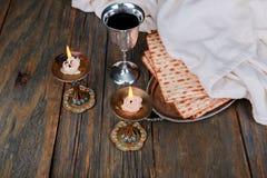 Shabbat Shalom - Traditional Jewish Sabbath ritual. Shabbat Shalom - Traditional Jewish Sabbath matzah, and wine. ritual Royalty Free Stock Photo