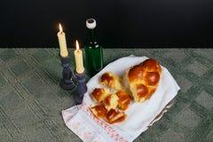 Shabbat Shalom - Traditional Jewish Sabbath ritual Stock Photo