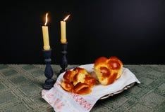 Shabbat Shalom - Traditional Jewish Sabbath ritual Stock Photography
