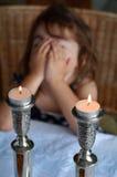 Shabbat wigilia zdjęcie stock