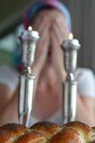 Shabbat wigilia Obrazy Royalty Free