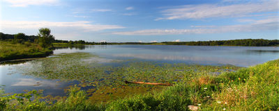 Shabbona Lake - Illinois. View of beautiful Shabbona Lake in northern Illinois Stock Photo