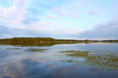 Shabbona Lake in Illinois Royalty Free Stock Photography