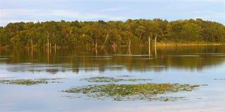 Shabbona Lake in Northern Illinois Royalty Free Stock Photos