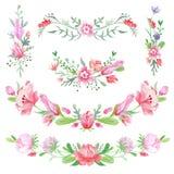 Shabby κομψά Floral σύντομα χρονογραφήματα Στοκ φωτογραφία με δικαίωμα ελεύθερης χρήσης