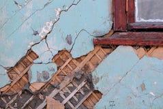 Shabby βρώμικος τοίχος Στοκ Εικόνα