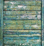 Shabby Blue Wooden Planks Stock Photography