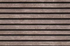 Shabby brown wood planks Stock Images