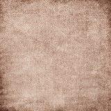Shabby canvas texture Stock Image