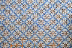 Shabby ceramic tiles Royalty Free Stock Images