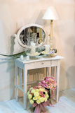Shabby chic. Detail (furniture design Stock Photos