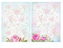 Shabby chic backgrounds with roses. stock image