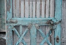 Shabby Chic Cabinet Door Detail Stock Photos