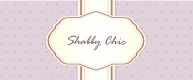 Shabby chic. card design. provence style. Eps 10 vector card design stock illustration