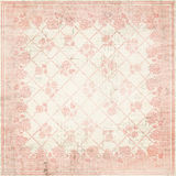 Shabby chic floral background. Illustration of a vintage shabby chic floral background in pink Royalty Free Stock Image
