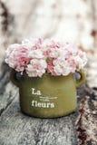 Shabby chic flowers Stock Image