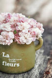 Shabby chic flowers Royalty Free Stock Images