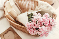 Shabby chic flowers Royalty Free Stock Photos