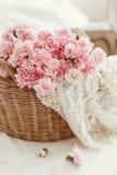 Shabby chic flowers Stock Photo