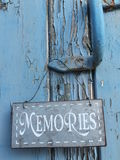 Memories in Here Royalty Free Stock Images
