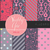 Shabby Chic Pattern Collection - Allegro Stock Photography