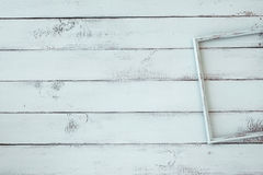 Shabby chic photo frame Stock Images