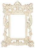Shabby Chic Picture Frame Stock Photography